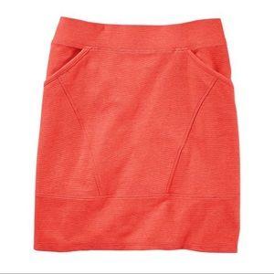 Toad & Co Starfish Flexcel Structured Skirt Medium